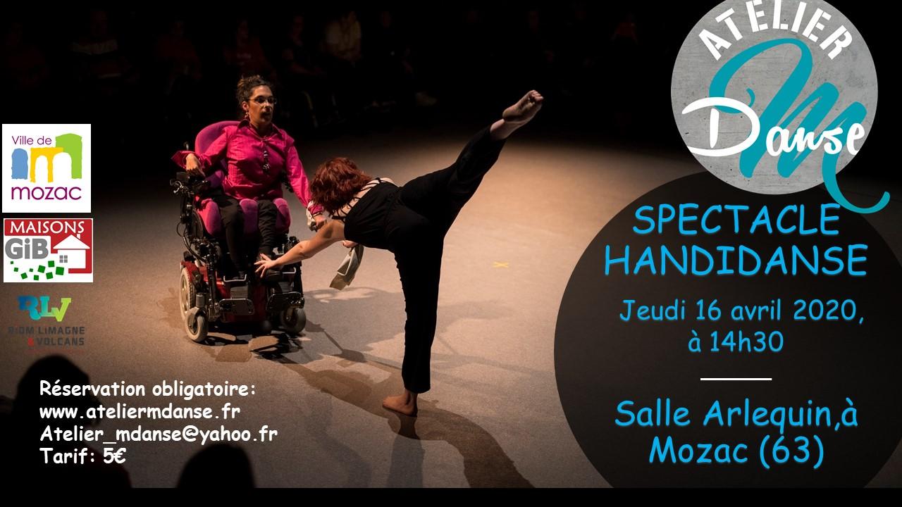 16/04/2020: Spectacle Handidanse